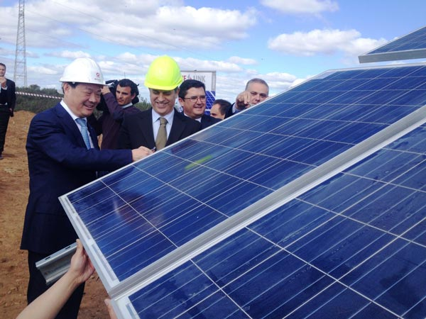 WElink Energy powers ahead with Europe's largest unsubsidised solar project