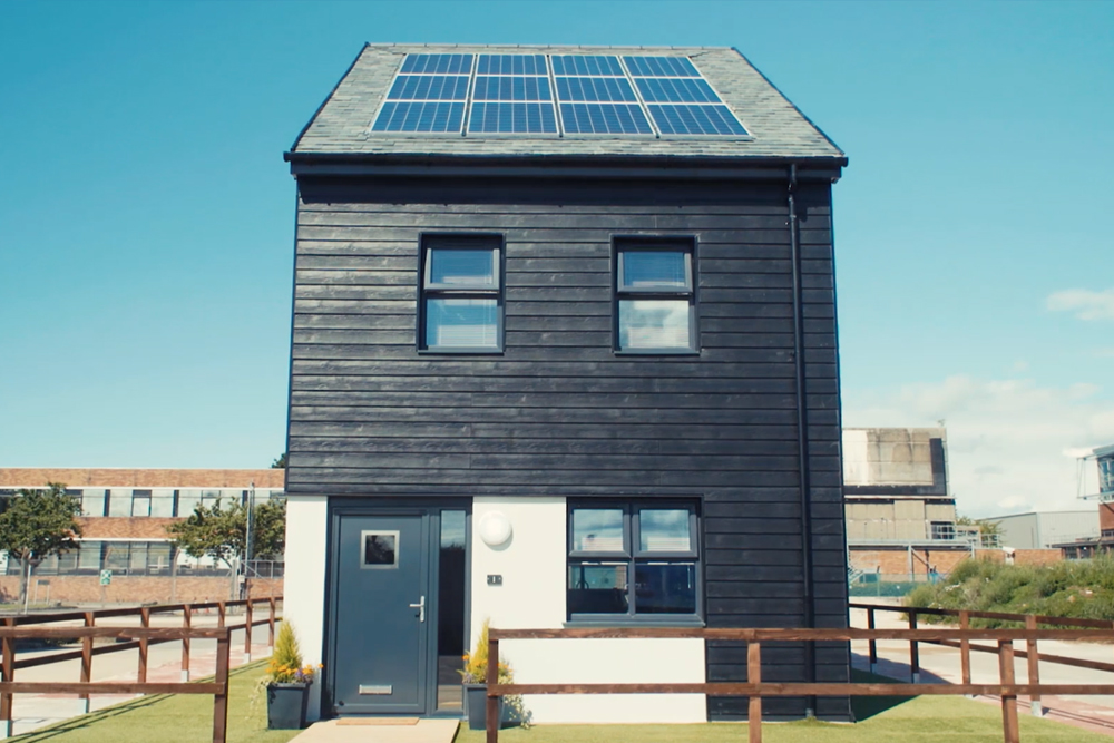 WElink launches its first UK low carbon modular pilot house during MIPIM UK